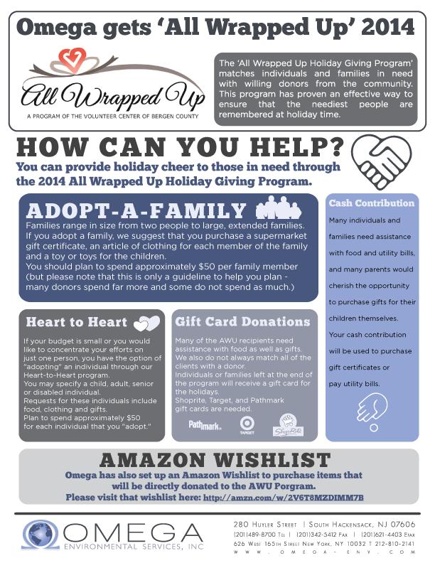 Omega Environmental - Charity Holiday 2014